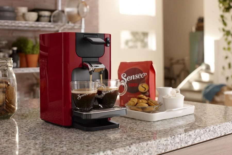 Une machine à café compacte